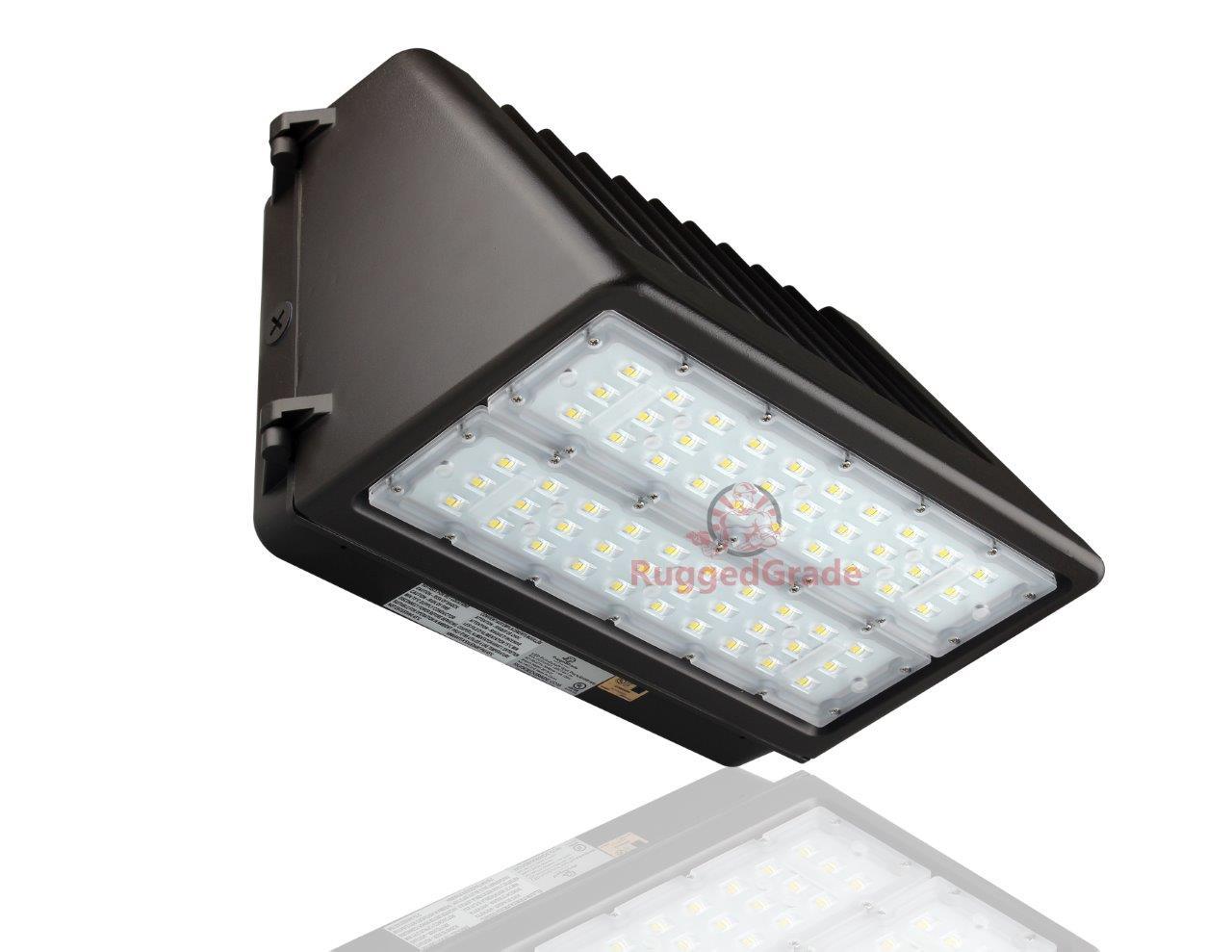 1000 Watt Metal Halide Led Replacement 120 watt led wall pack light with photocell - tucana series full cut off û  15,400 lumens- 5000k - dusk to dawn sensor dark sky compliant full cutoff